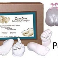 3D Prints Baby Casting Kit - Mold and Cast Infant Foot and Hand (Pearl)