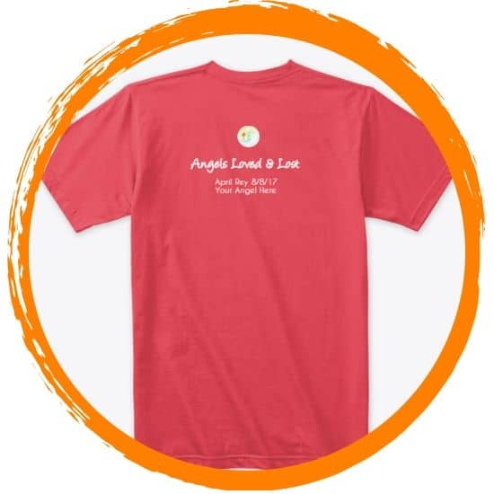 tshirt in honor of angels lost (1)