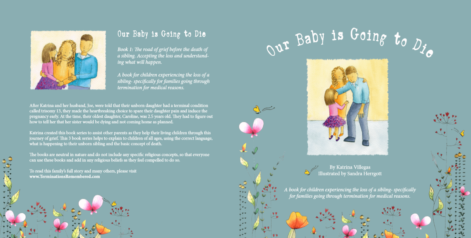 Children's Book Series to be Published Soon- Grief of Losing a Sibling to TFMR