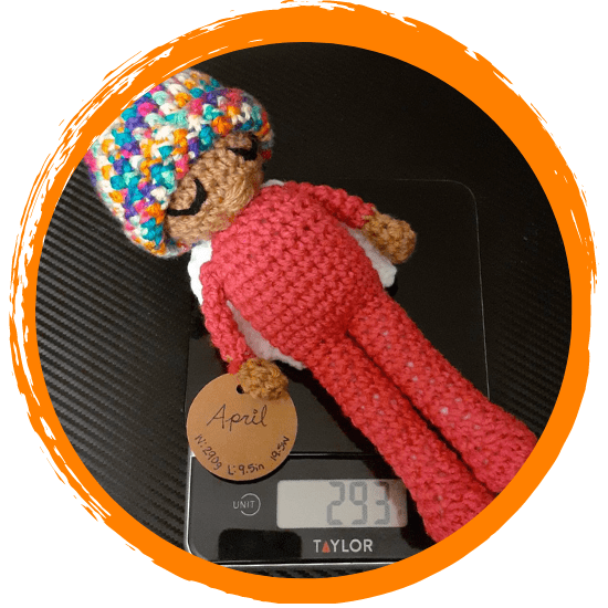 Crochet Weighted Doll – A Remembrance Item